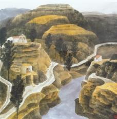 中国现代山水0069