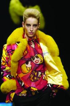 米兰2004女装秋冬新品发布会0370