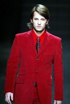 巴黎2004男装冬季发布会0070