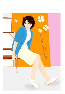 女性时尚0123
