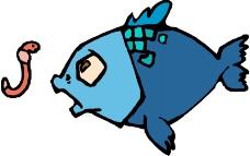 水中动物0275