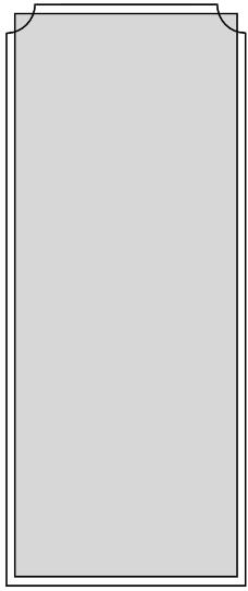 纯色方形边框素材