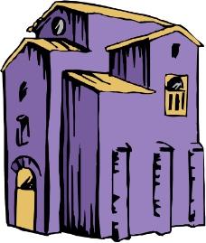 卡通建筑0355