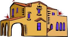 卡通建筑0468