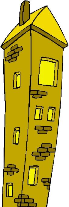 卡通建筑0099