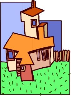 卡通建筑0231