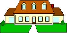 卡通建筑0546