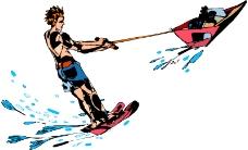 水上运动0481