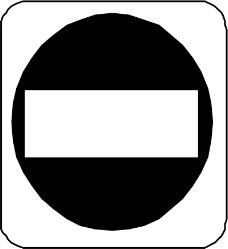 交通标识0885
