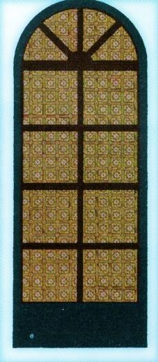 欧式铁艺花纹建筑图片