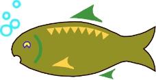 水中动物0432